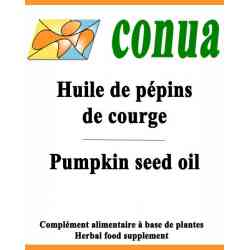 pelo de aceite de semilla de calabaza