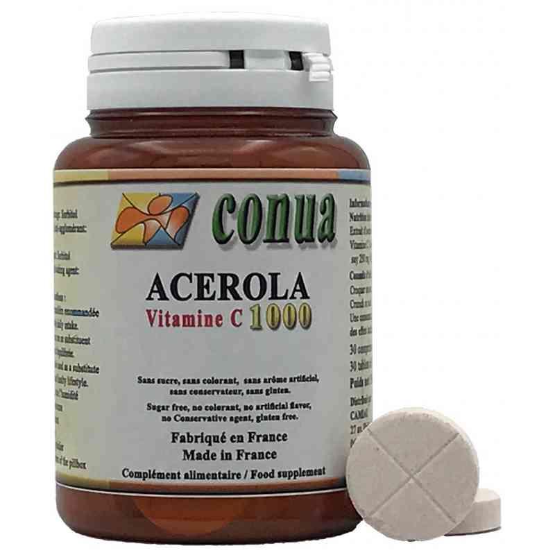Acérola Vitamine C comprimé sécable