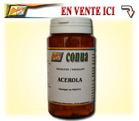 Acérola vitamine C pur