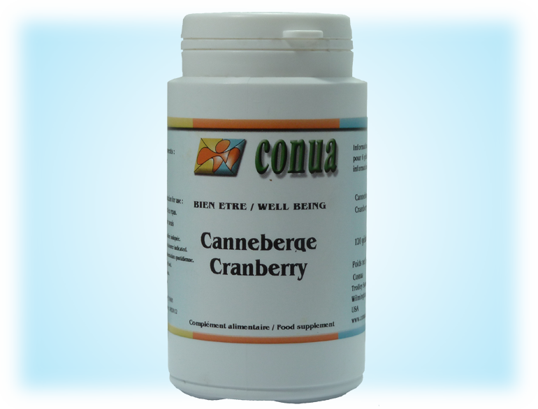 Acheter canneberge cranberry 120 gélules