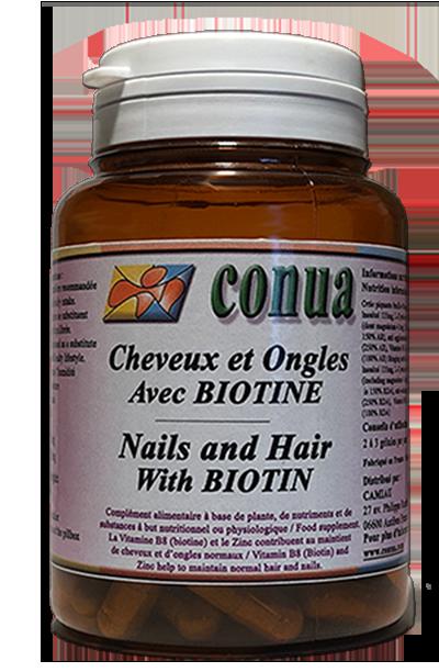 acheter complement Cheveux Ongles Conua