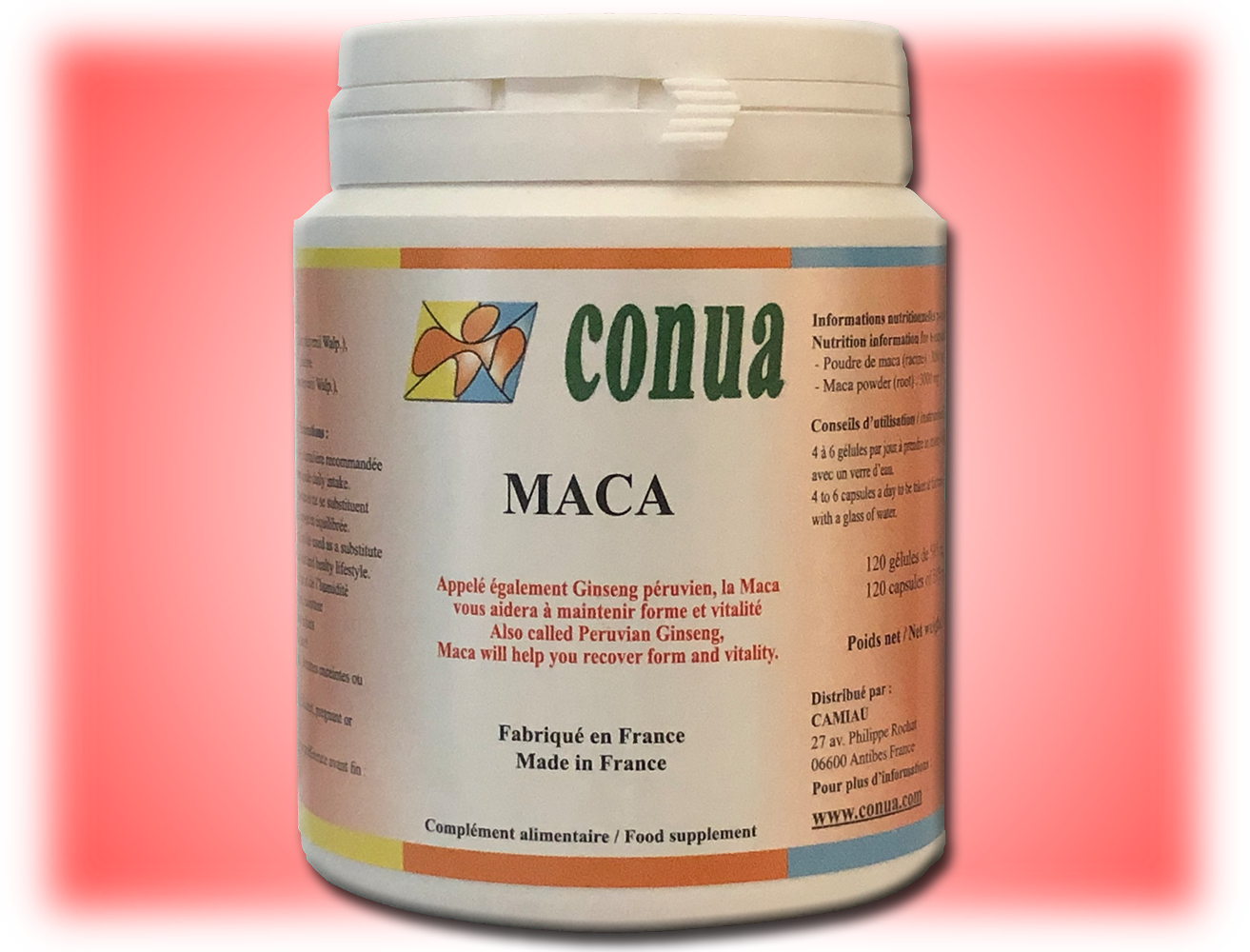 Buy maca 500mg 120 capsules