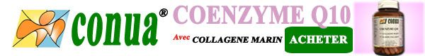 COENZYME-Q10 & COLLAGENE MARIN CONUA